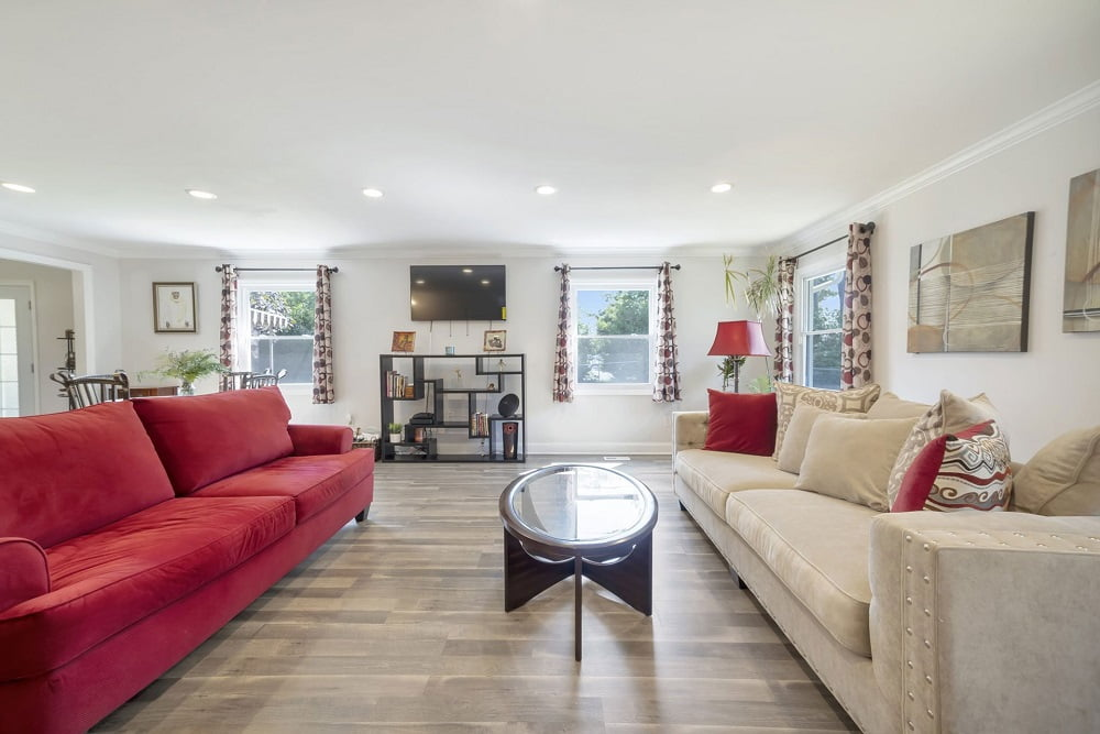 Real Estate Photography in Philadelphia - Living Area View