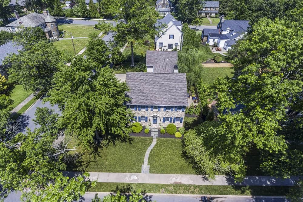 Real Estate Photography in Cherry Hill - Aerial View