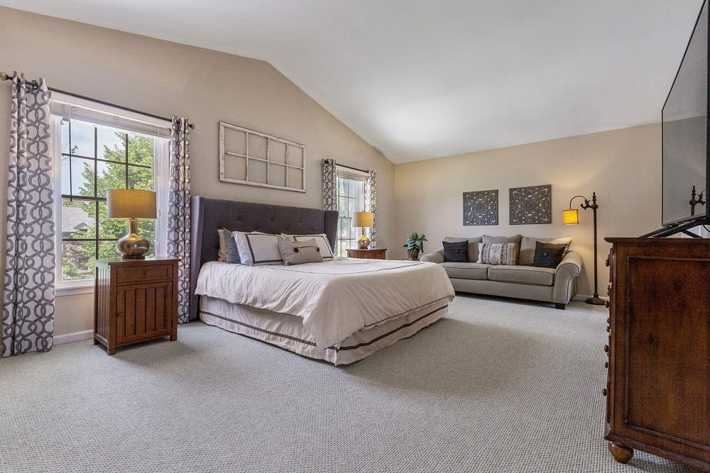 Real Estate Photography in Cherry Hill - Bedroom View