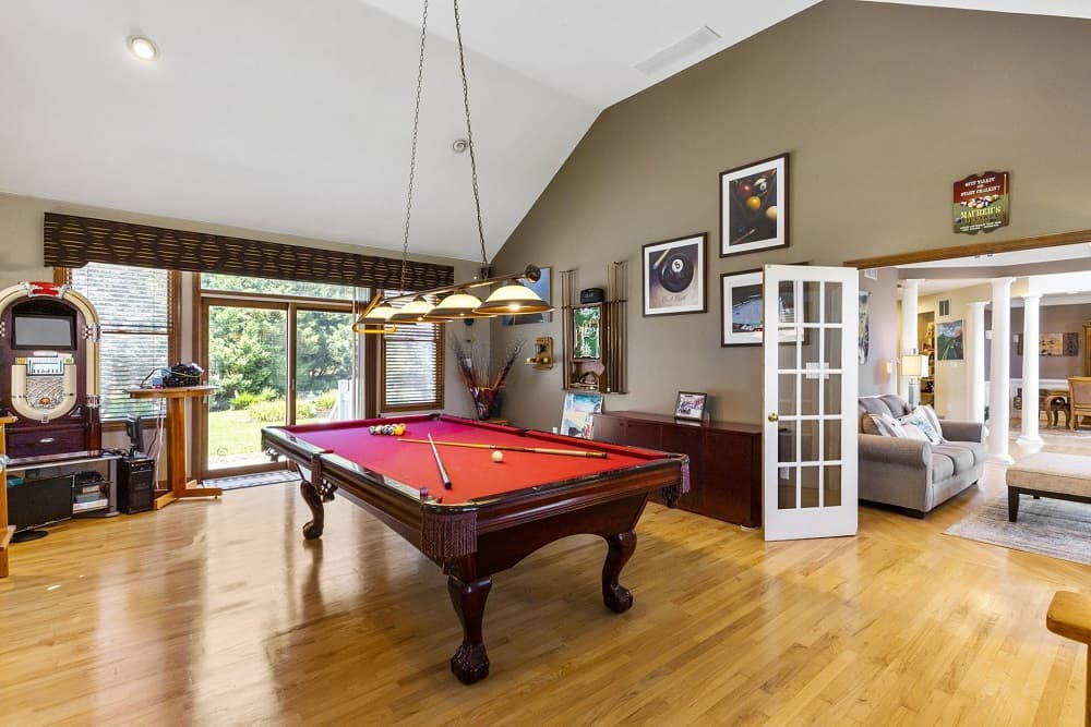 Real Estate Photography in Hammonton - Game Area View