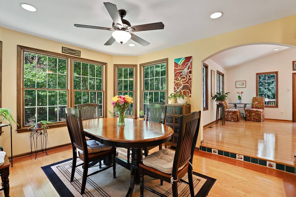 Real Estate Photography in Hammonton - Dining Area View