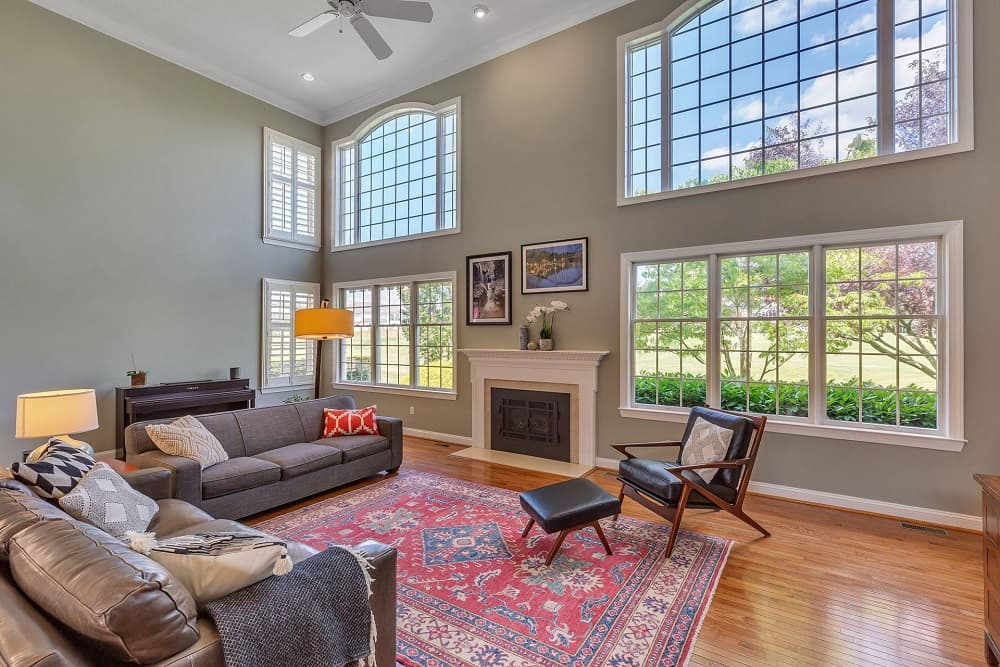 Real Estate Photography in Hammonton - Living Area View