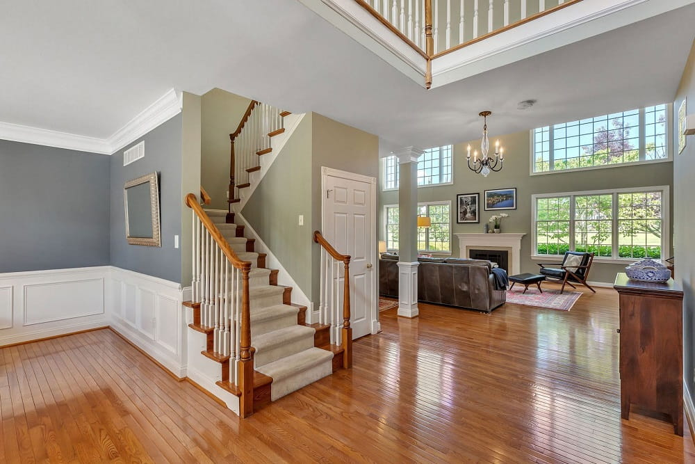 Real Estate Photography in Hammonton - Stair Case View