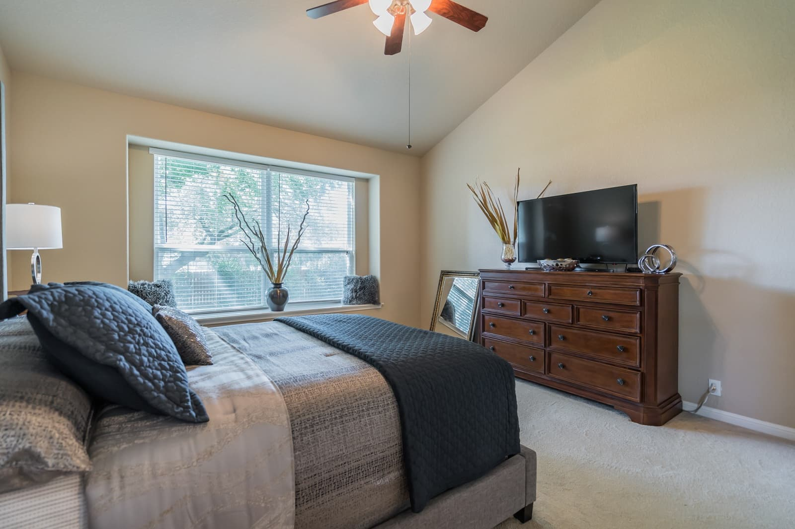 Real Estate Photography in Cibolo - TX - Bedroom View