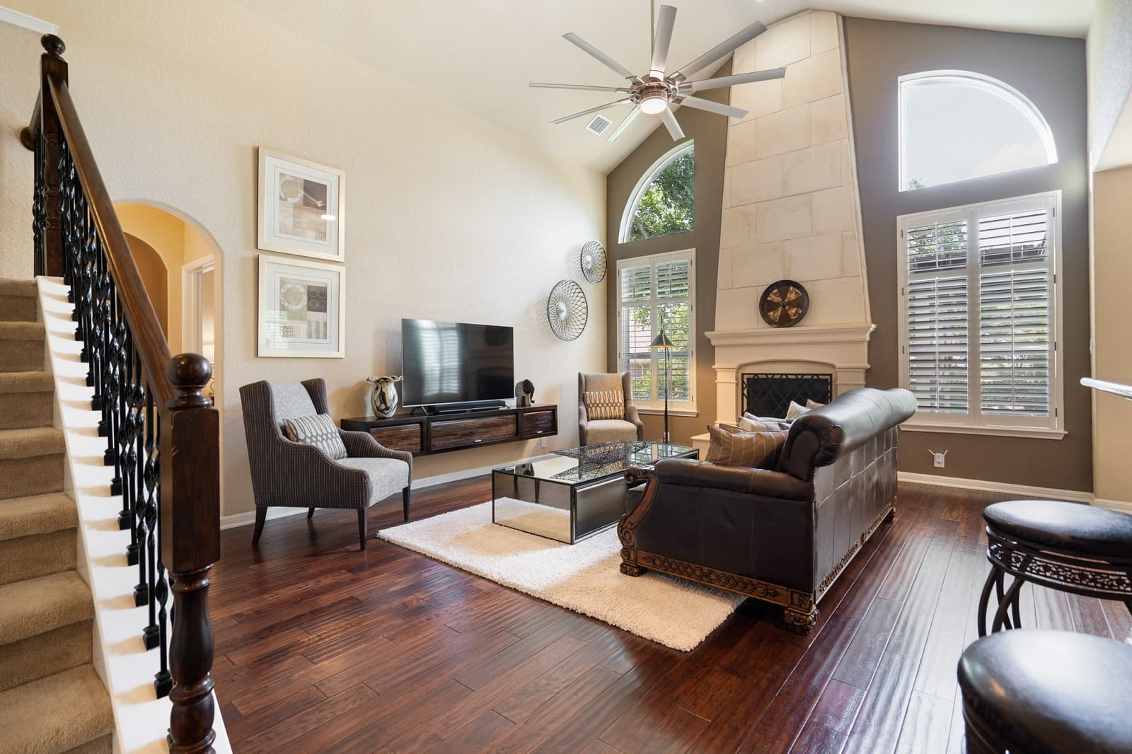 Real Estate Photography in Cibolo - TX - Living Area View