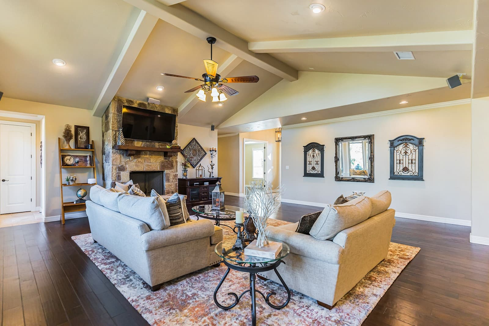 Real Estate Photography in New Braunfels - TX - Living Area View