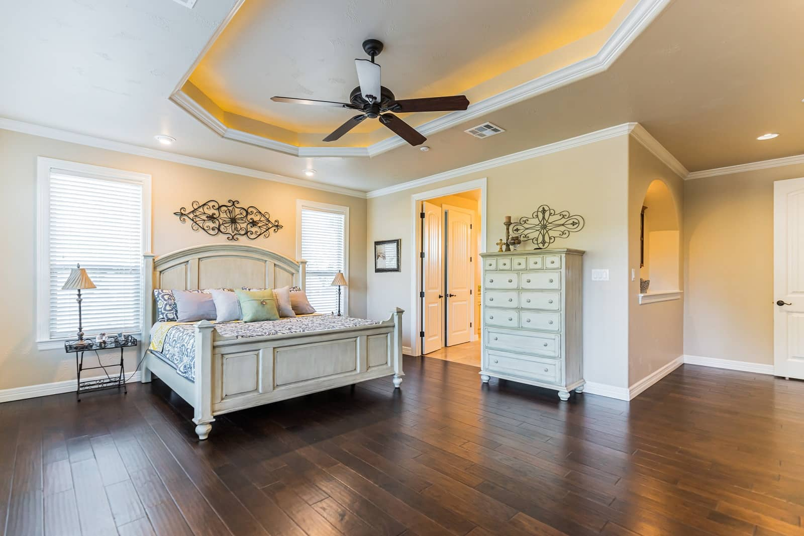 Real Estate Photography in New Braunfels - TX - Bedroom View