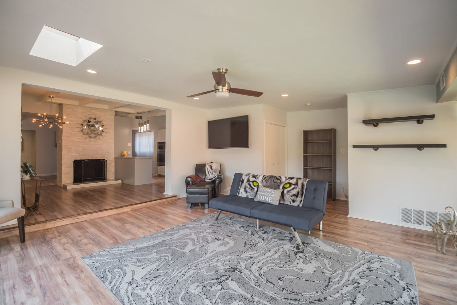 Real Estate Photography in Garland - TX - Living Area View