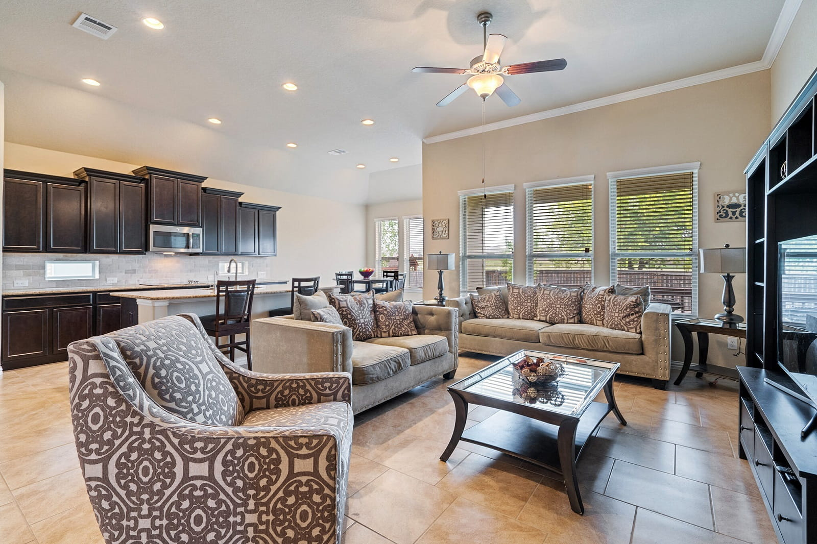 Real Estate Photography in Schertz - TX - Living Area View