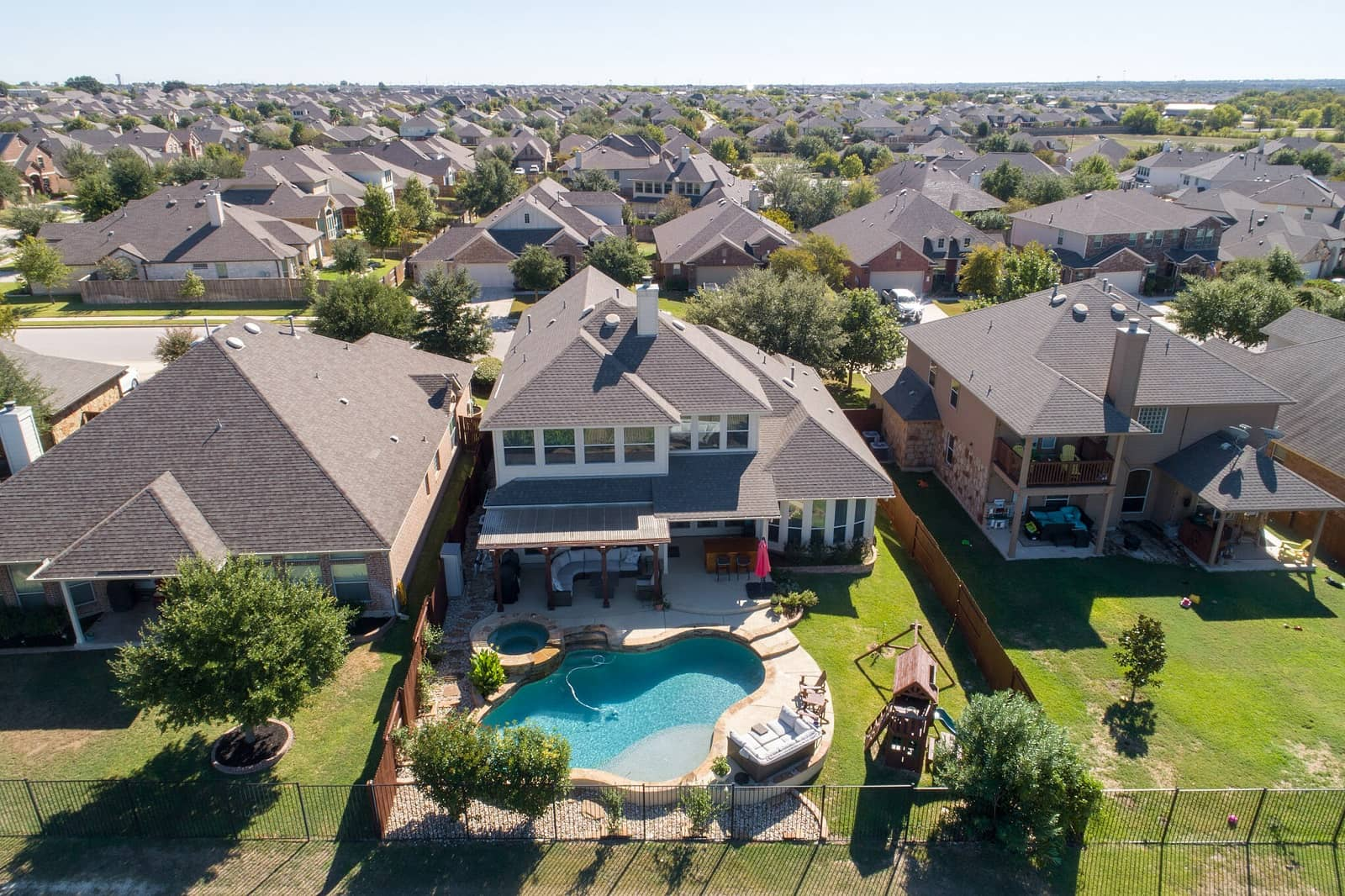 Real Estate Photography in Round Rock - TX - Aerial View