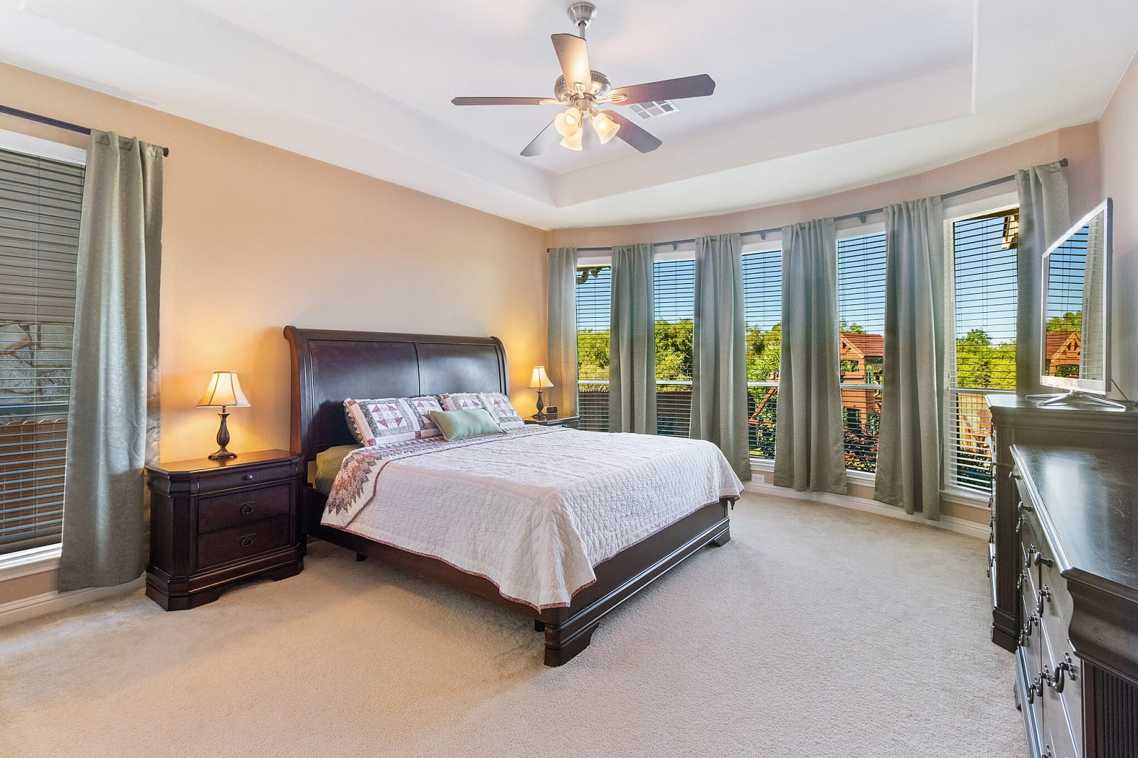 Real Estate Photography in Round Rock - TX - Bedroom View