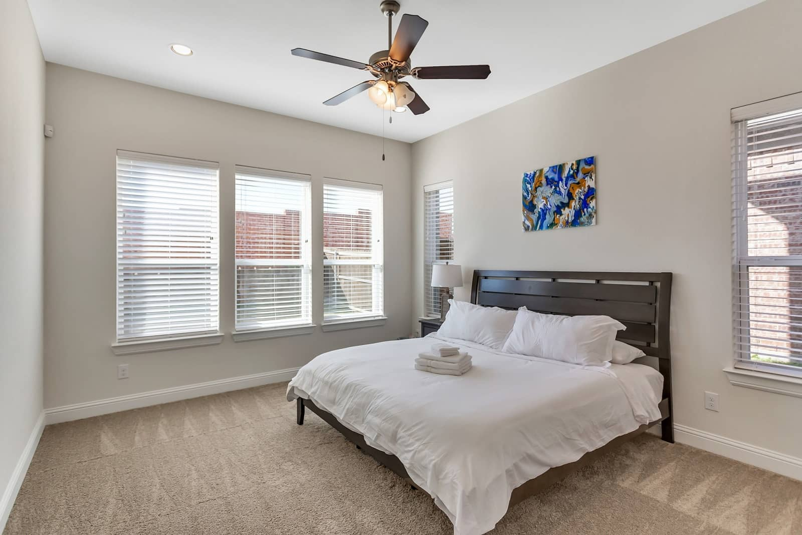 Real Estate Photography in Irving - TX - Bedroom View