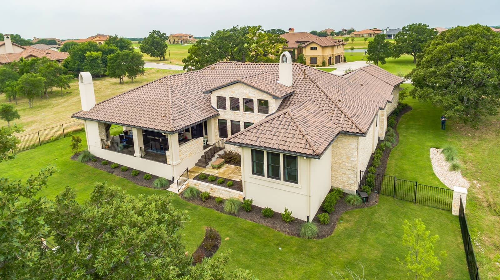 Real Estate Photography in Georgetown - TX - Aerial View