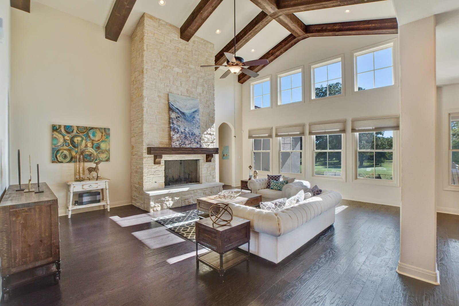 Real Estate Photography in Georgetown - TX - Living Area View
