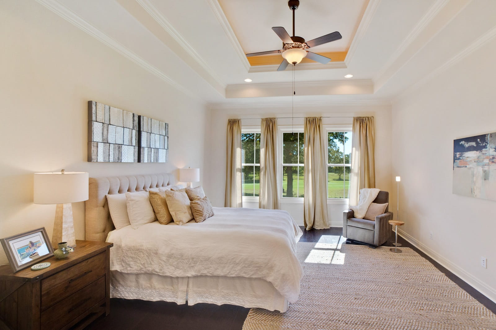 Real Estate Photography in Georgetown - TX - Bedroom View