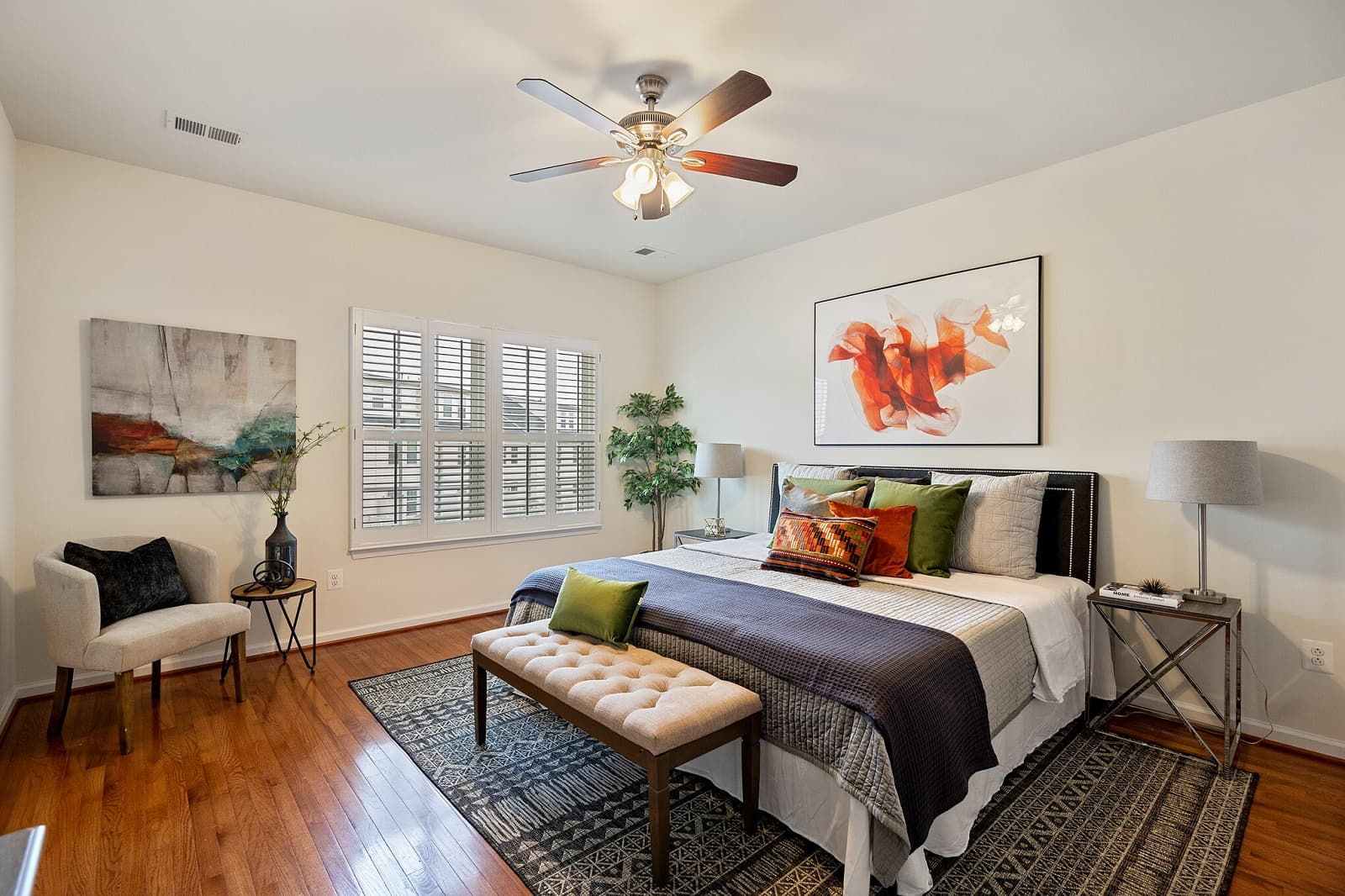 Real Estate Photography in Washington D.C - Bedroom View
