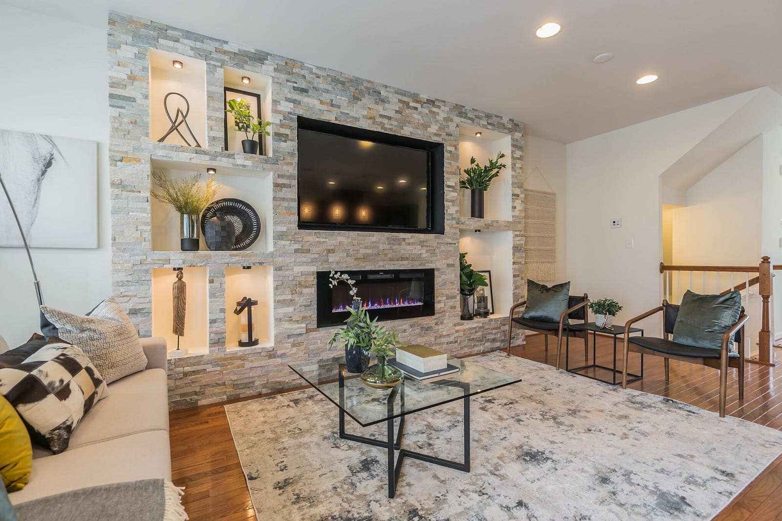 Real Estate Photography in Washington D.C - Living Area View