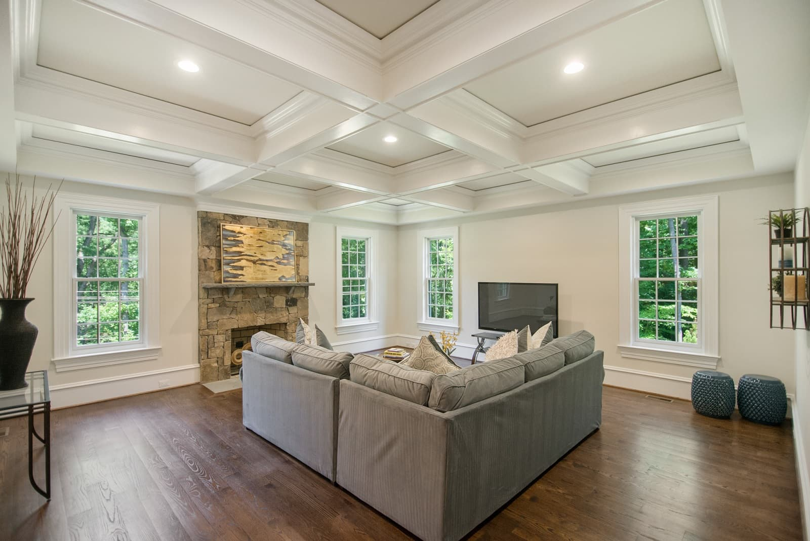 Real Estate Photography in Arlington - Living Area View