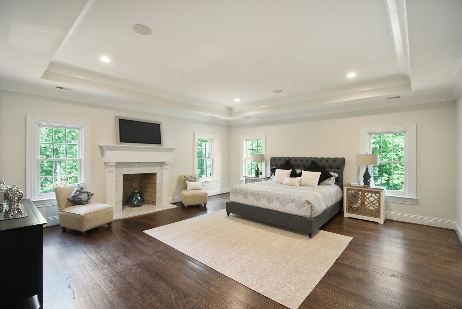 Real Estate Photography in Arlington - Bedroom View