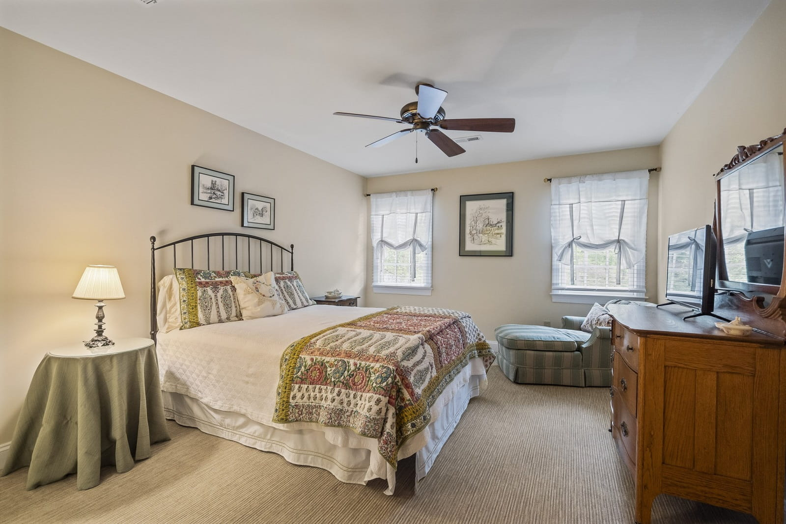 Real Estate Photography in Fredericksburg - Bedroom View