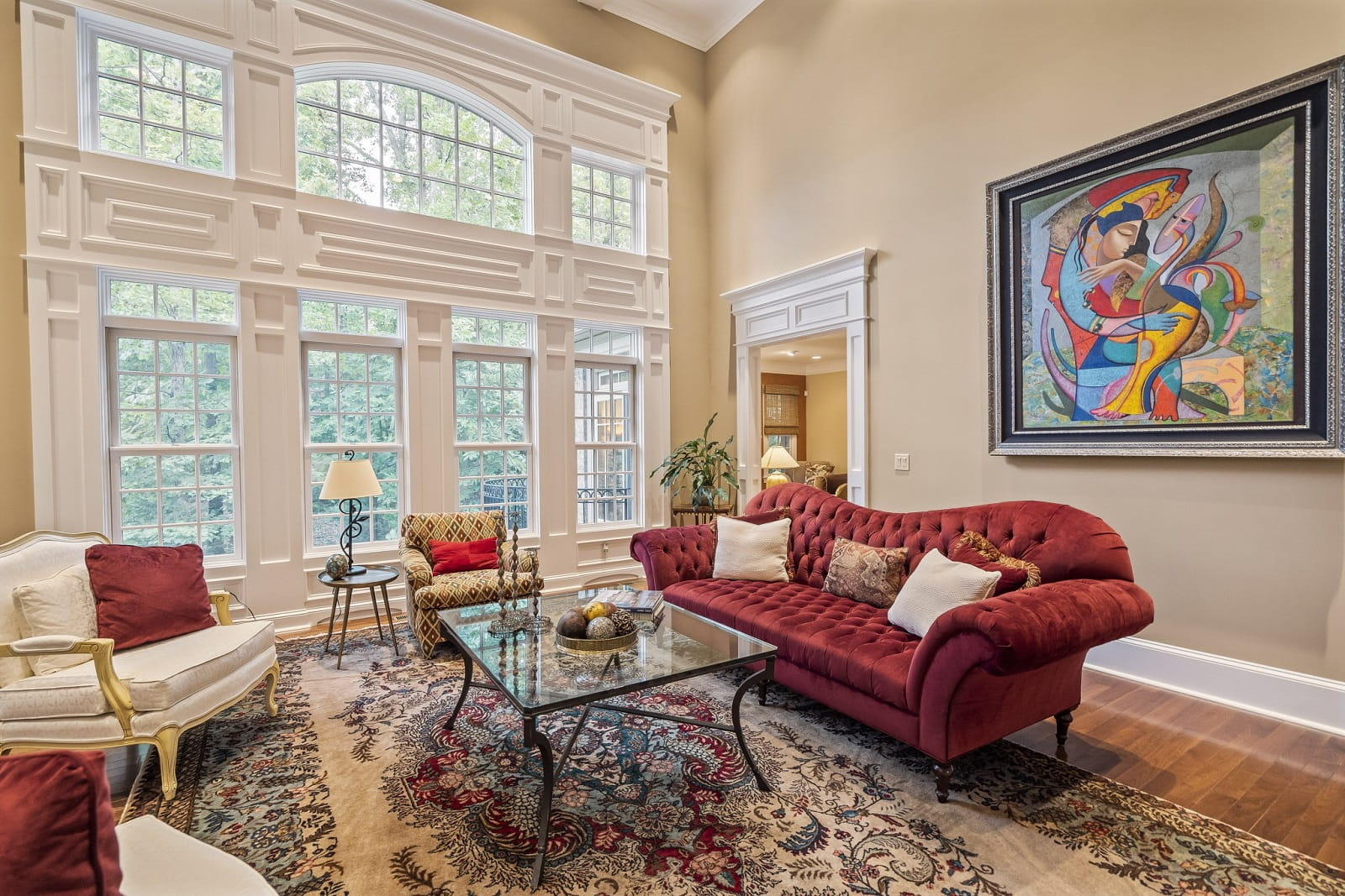 Real Estate Photography in Fredericksburg - Living Area View
