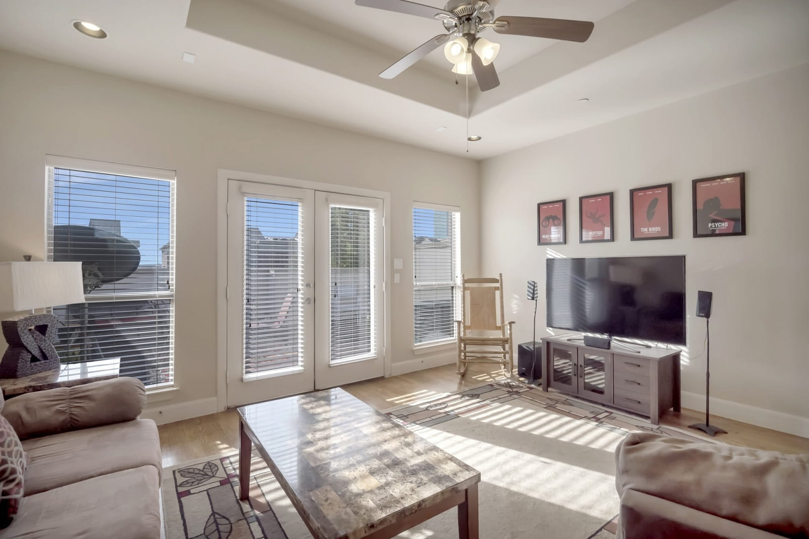 Real Estate Photography in Fort Worth - Living Area View