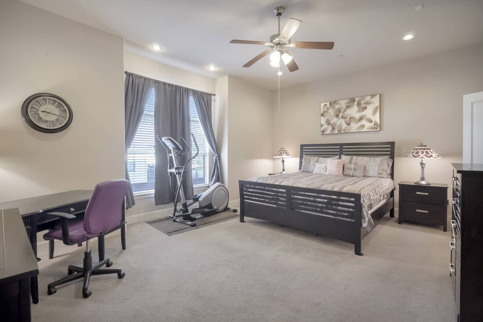 Real Estate Photography in Fort Worth - Bedroom View