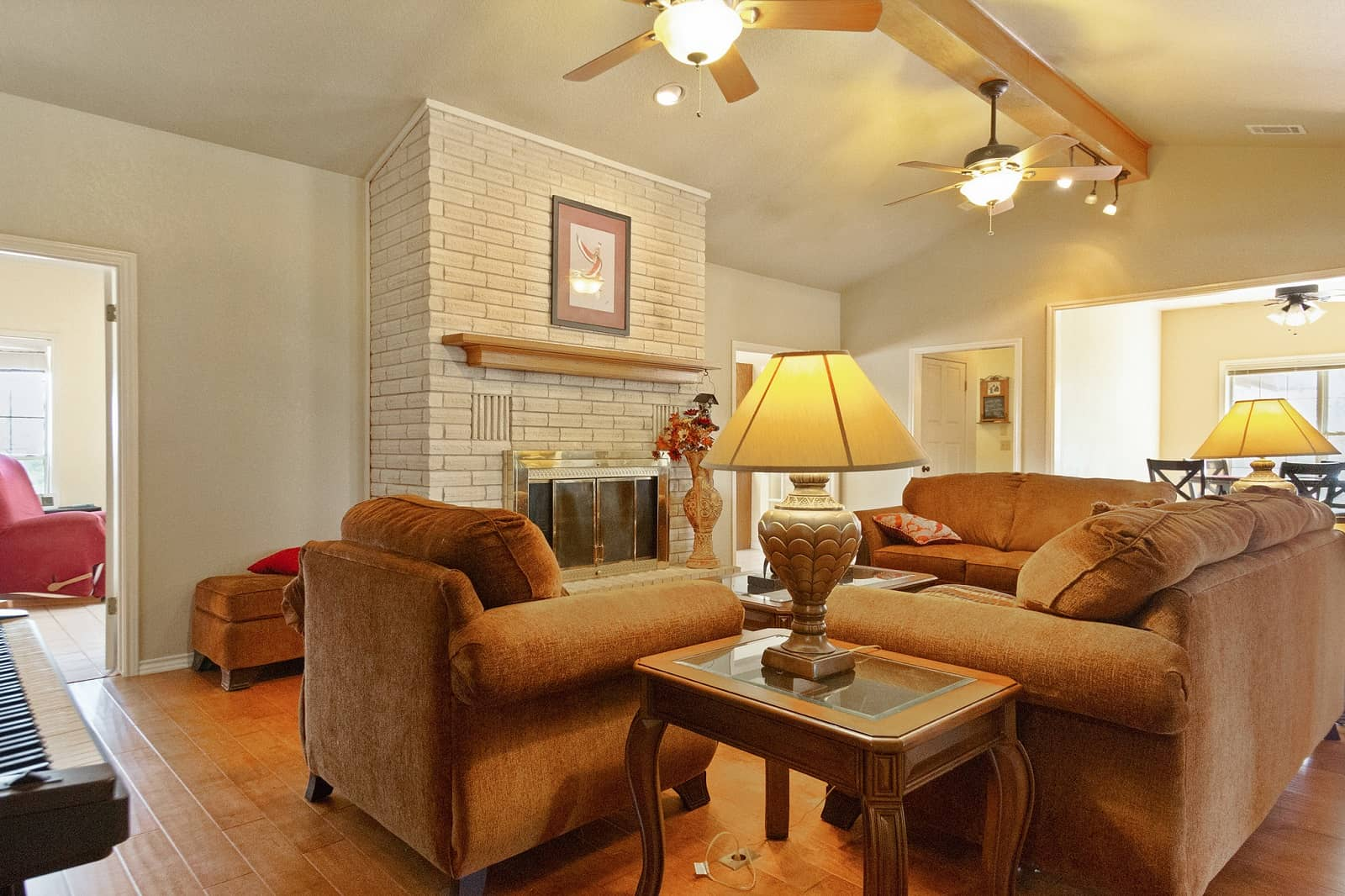 Real Estate Photography in San Marcos - TX - Living Area View