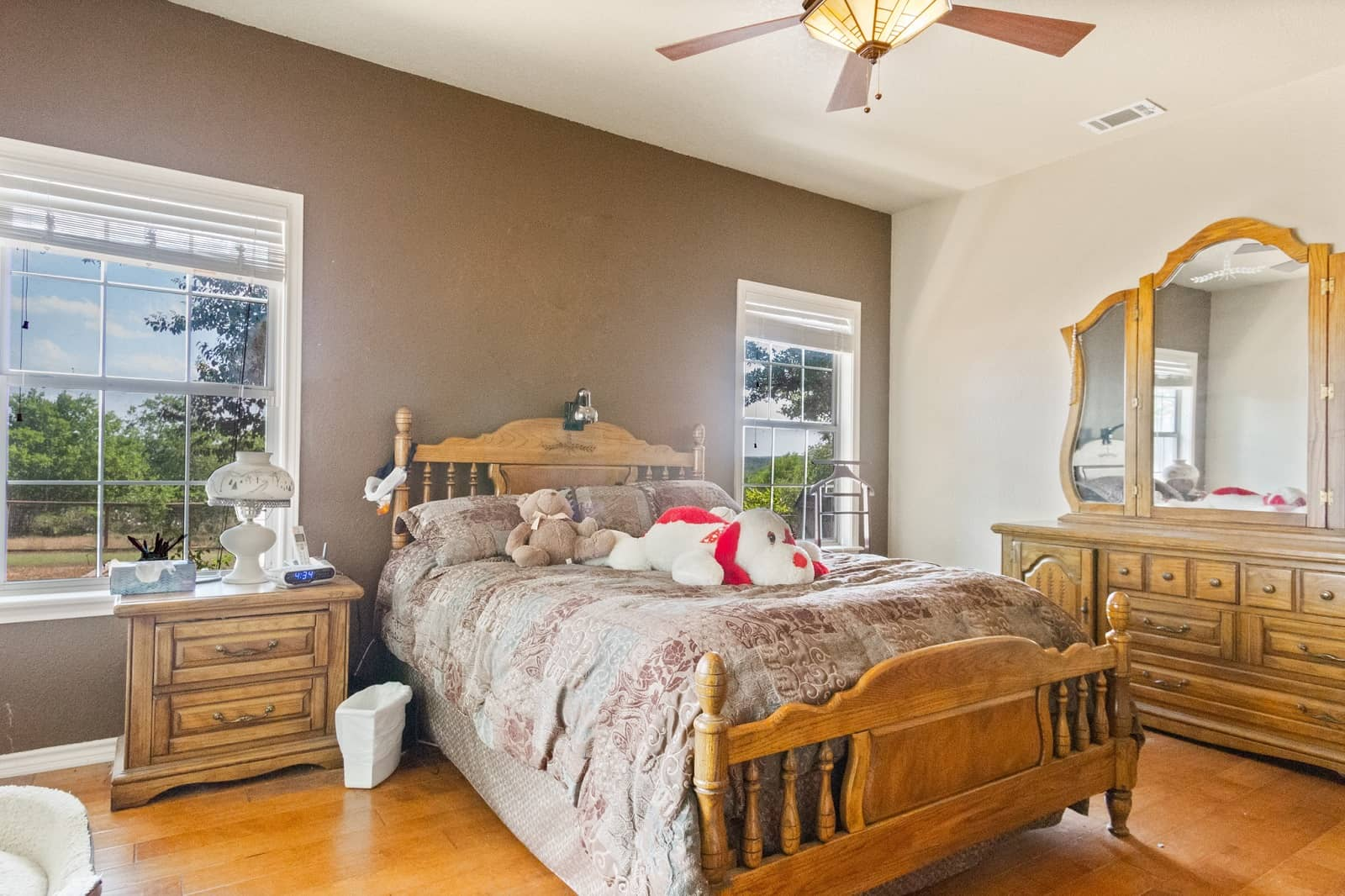 Real Estate Photography in San Marcos - TX - Bedroom View