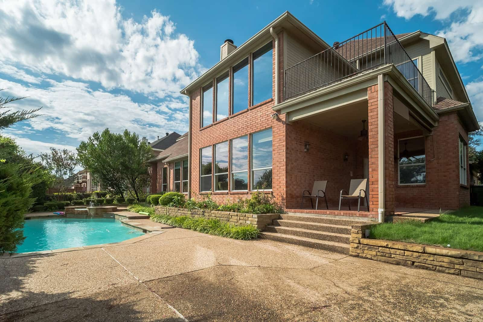 Real Estate Photography in Plano - TX - Front View