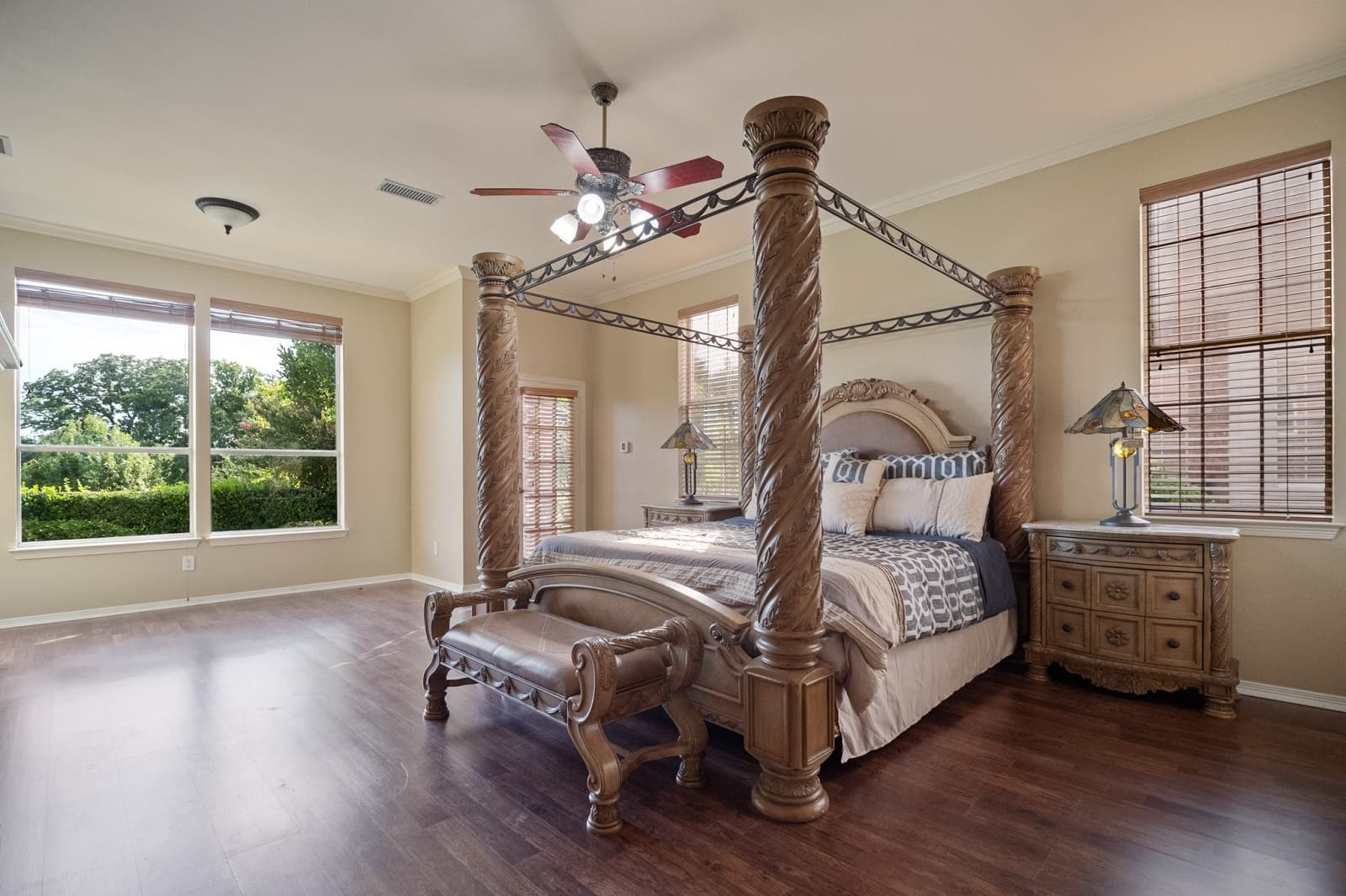 Real Estate Photography in Plano - TX - Bedroom View