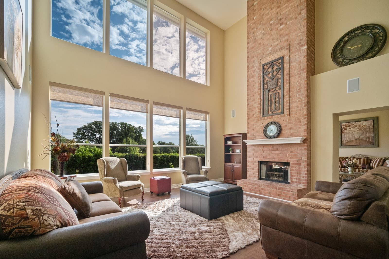 Real Estate Photography in Plano - TX - Living Area View
