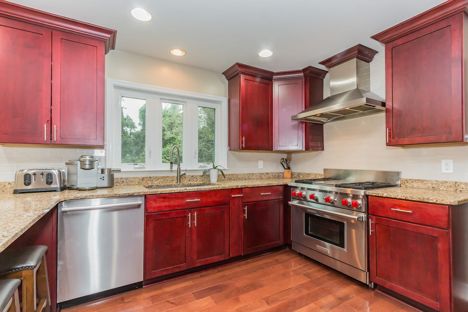 Real Estate Photography in Bethesda - Kitchen View