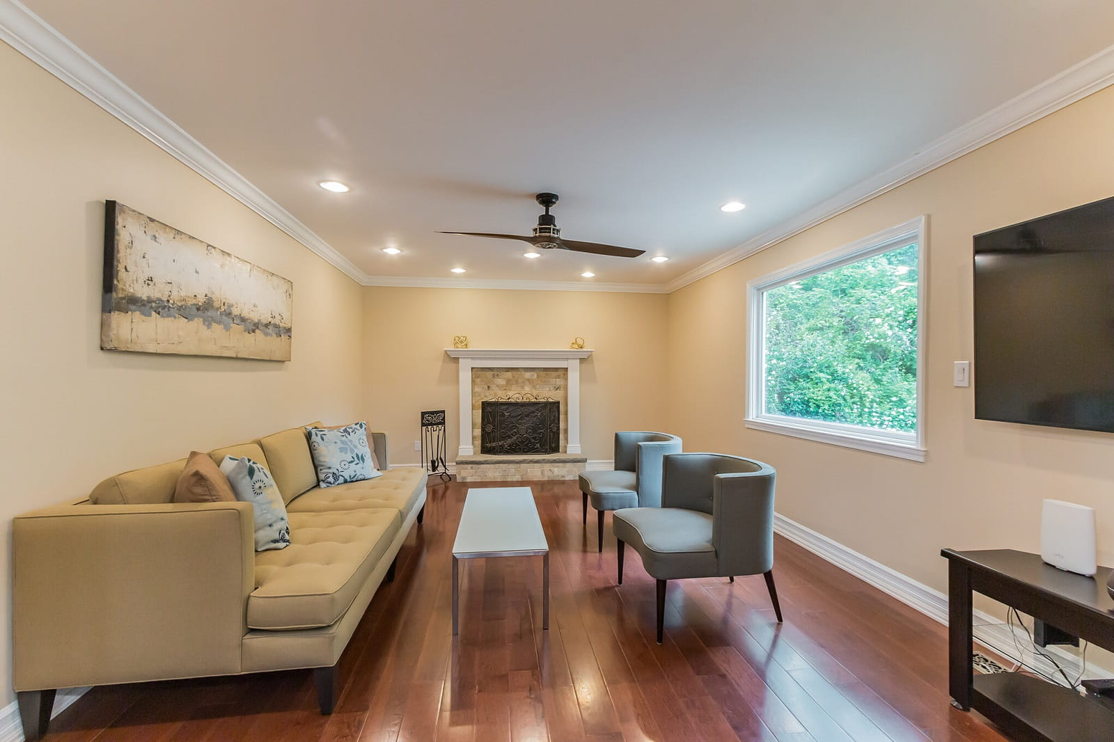 Real Estate Photography in Bethesda - Living Area View