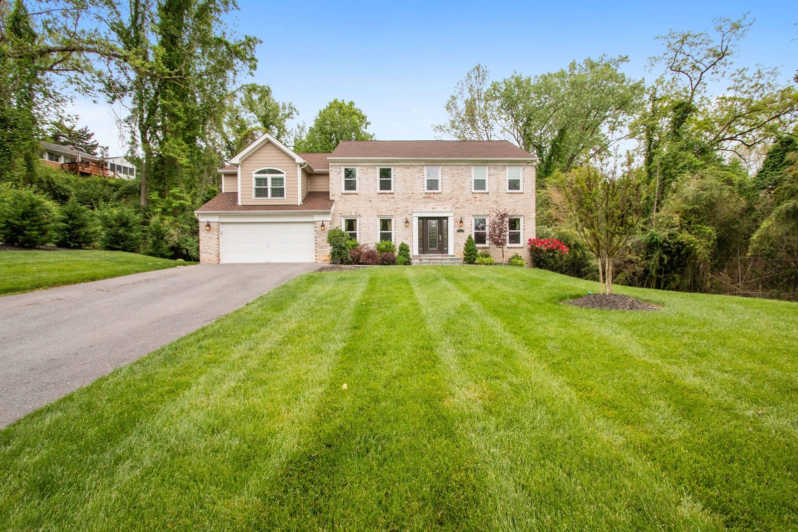 Real Estate Photography in Bethesda - Front View
