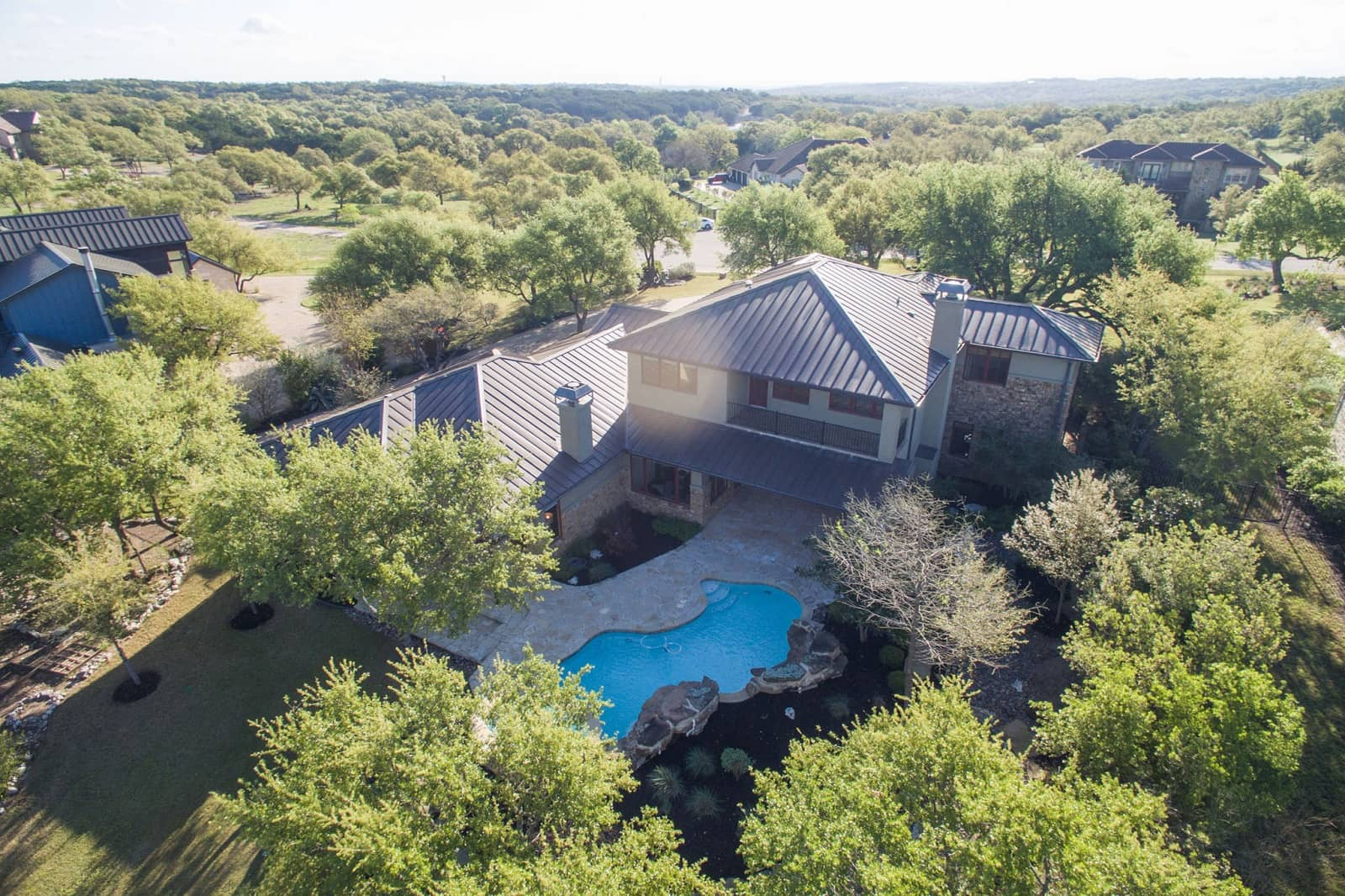 Real Estate Photography in Austin - TX - Aerial View