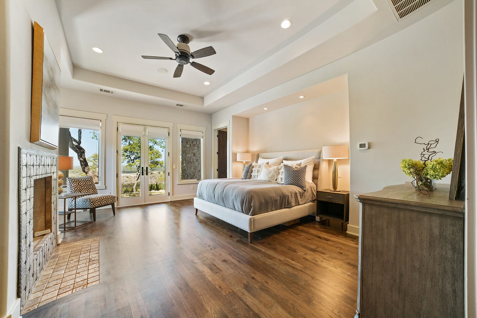 Real Estate Photography in Austin - TX - Bedroom View