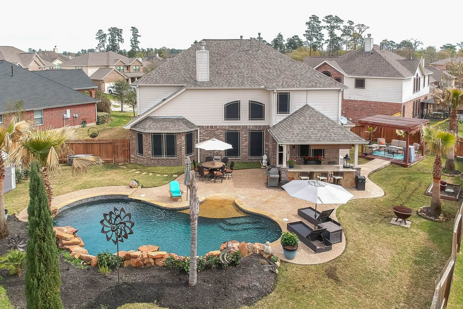 Real Estate Photographers in The Woodlands - TX - Front View