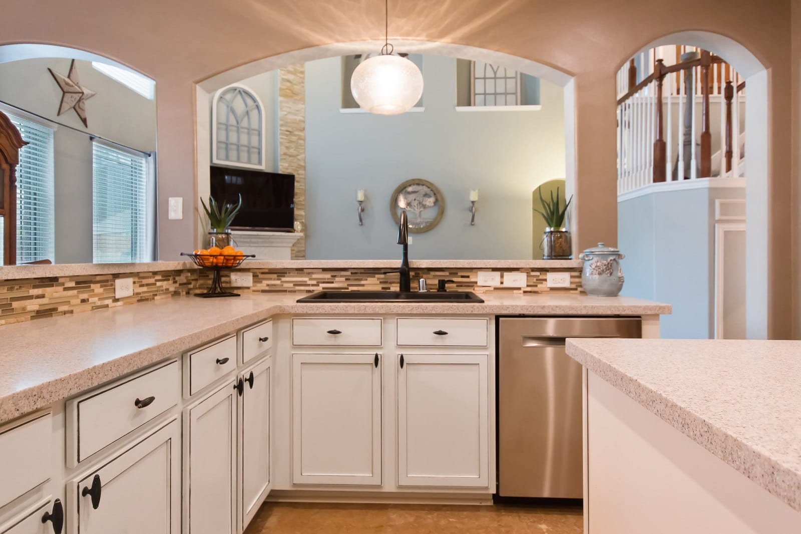 Real Estate Photographers in The Woodlands - TX - Kitchen View