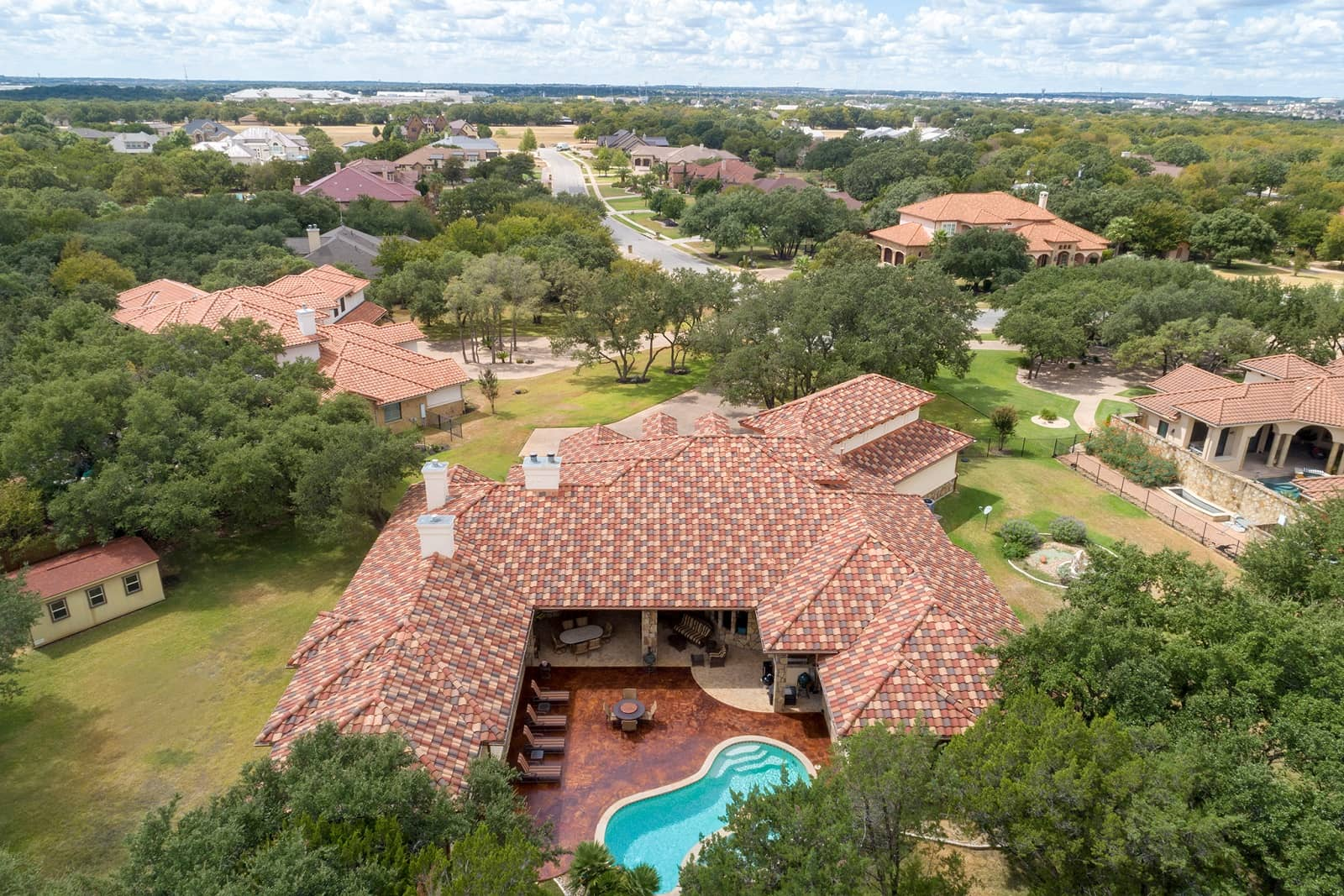 Real Estate Photography in Cedar Park - TX - Aerial View