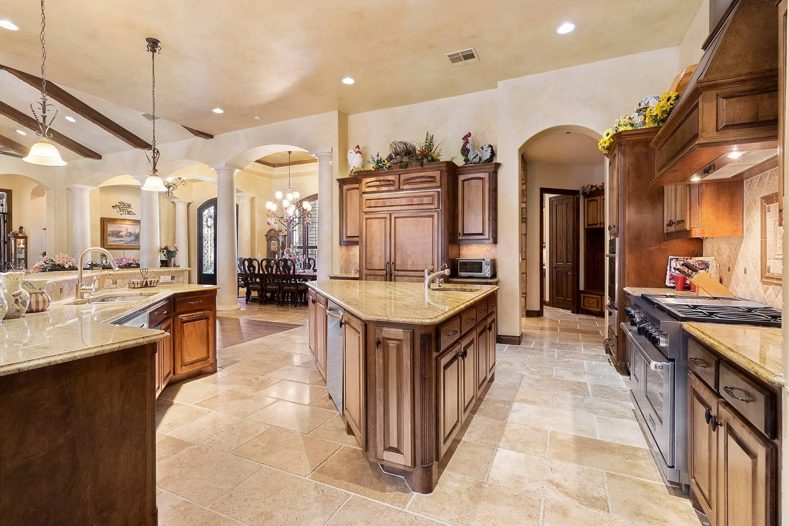 Real Estate Photography in Cedar Park - TX - Kitchen View