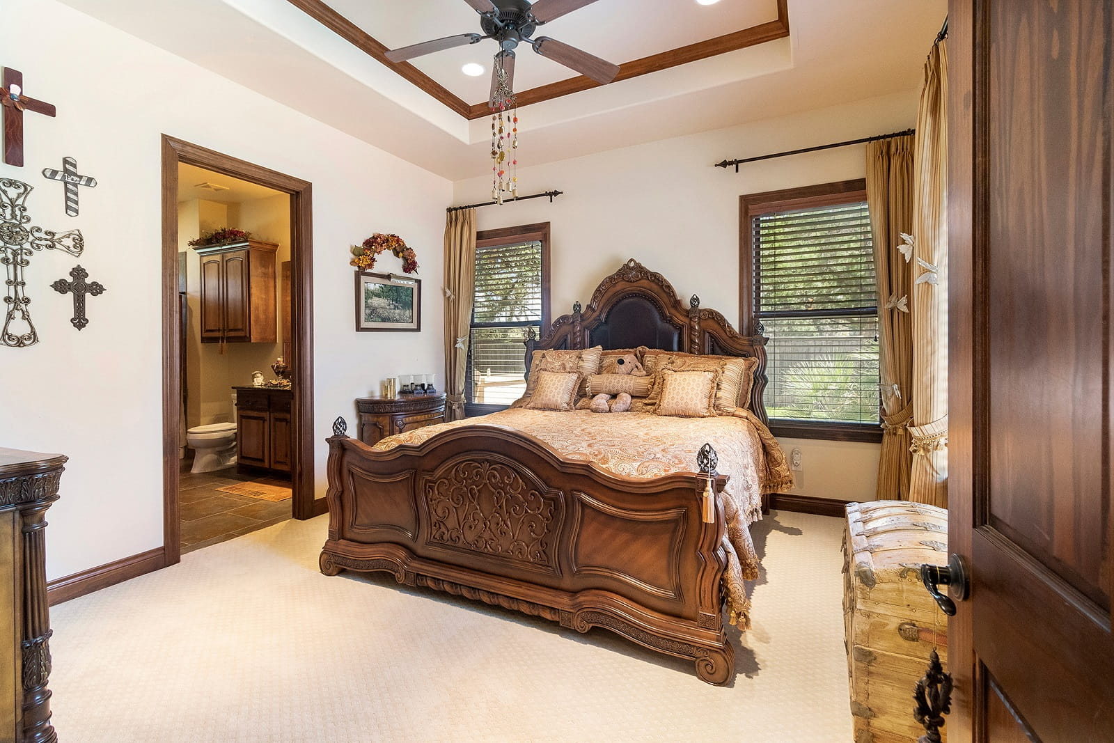 Real Estate Photography in Cedar Park - TX - Bedroom View