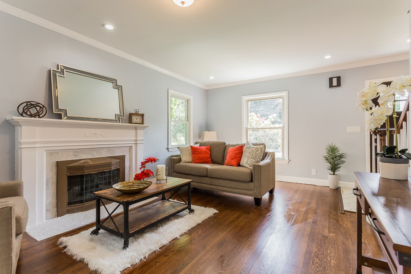 Real Estate Photography in Hempstead - NY - USA - Living Area View