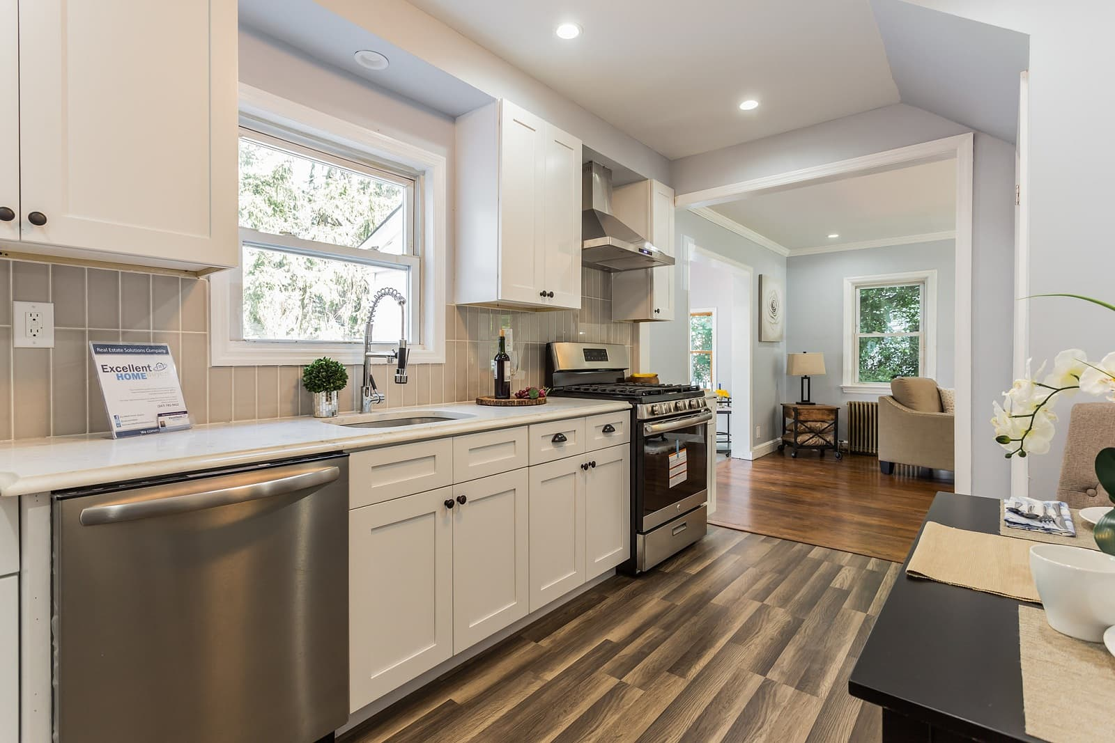 Real Estate Photography in Hempstead - NY - USA - Kitchen View