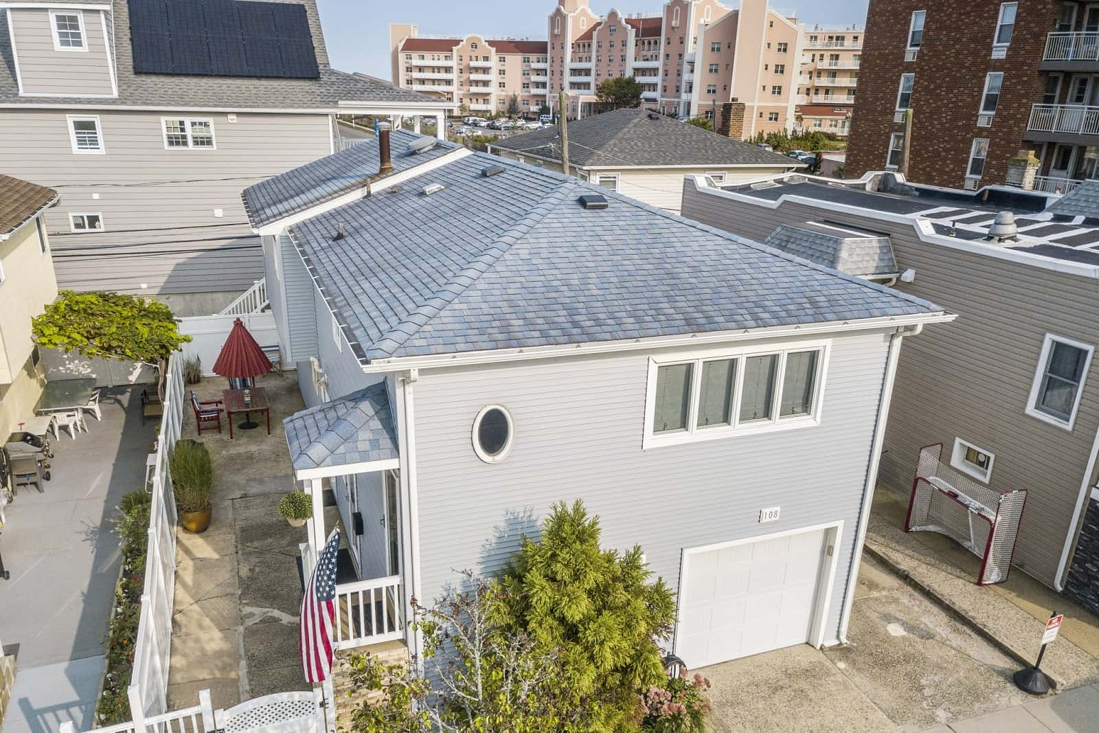 Real Estate Photography in Long Beach - NY - USA - Aerial View