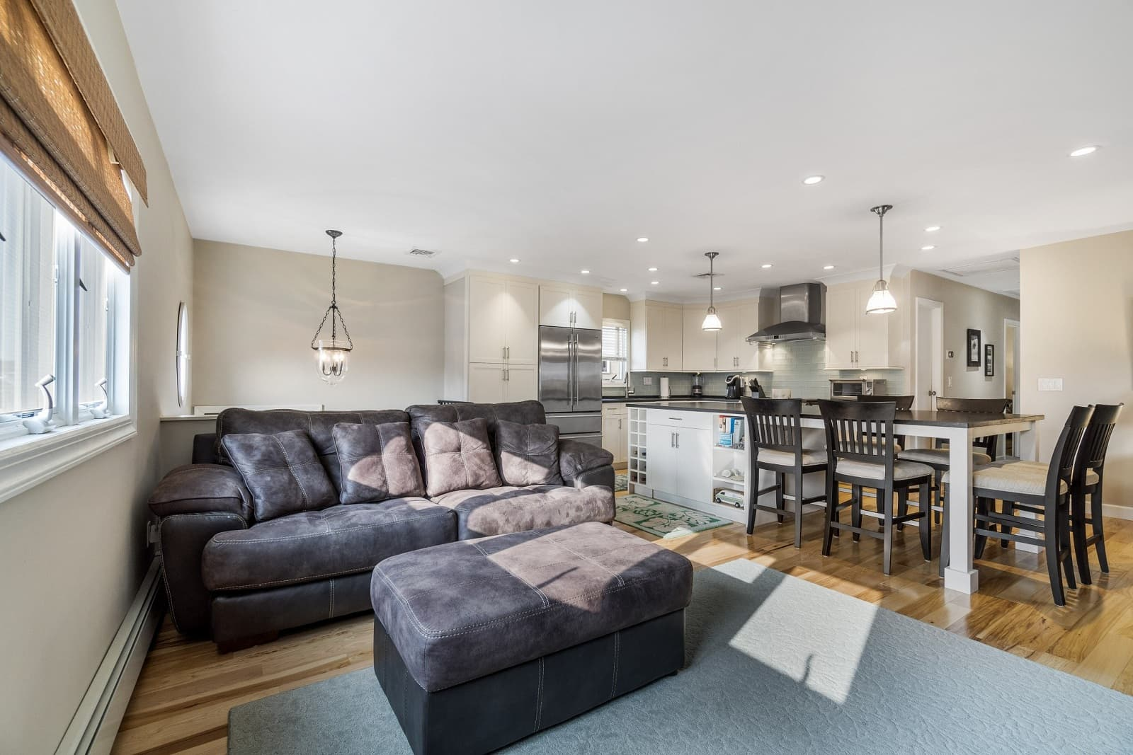 Real Estate Photography in Long Beach - NY - USA - Living Area View