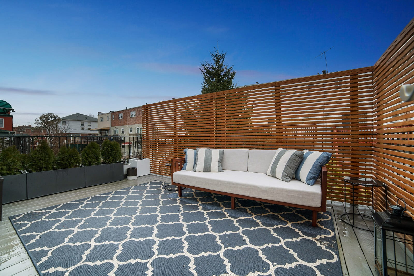 Real Estate Photography in Bronx - New York - USA - Terrace View