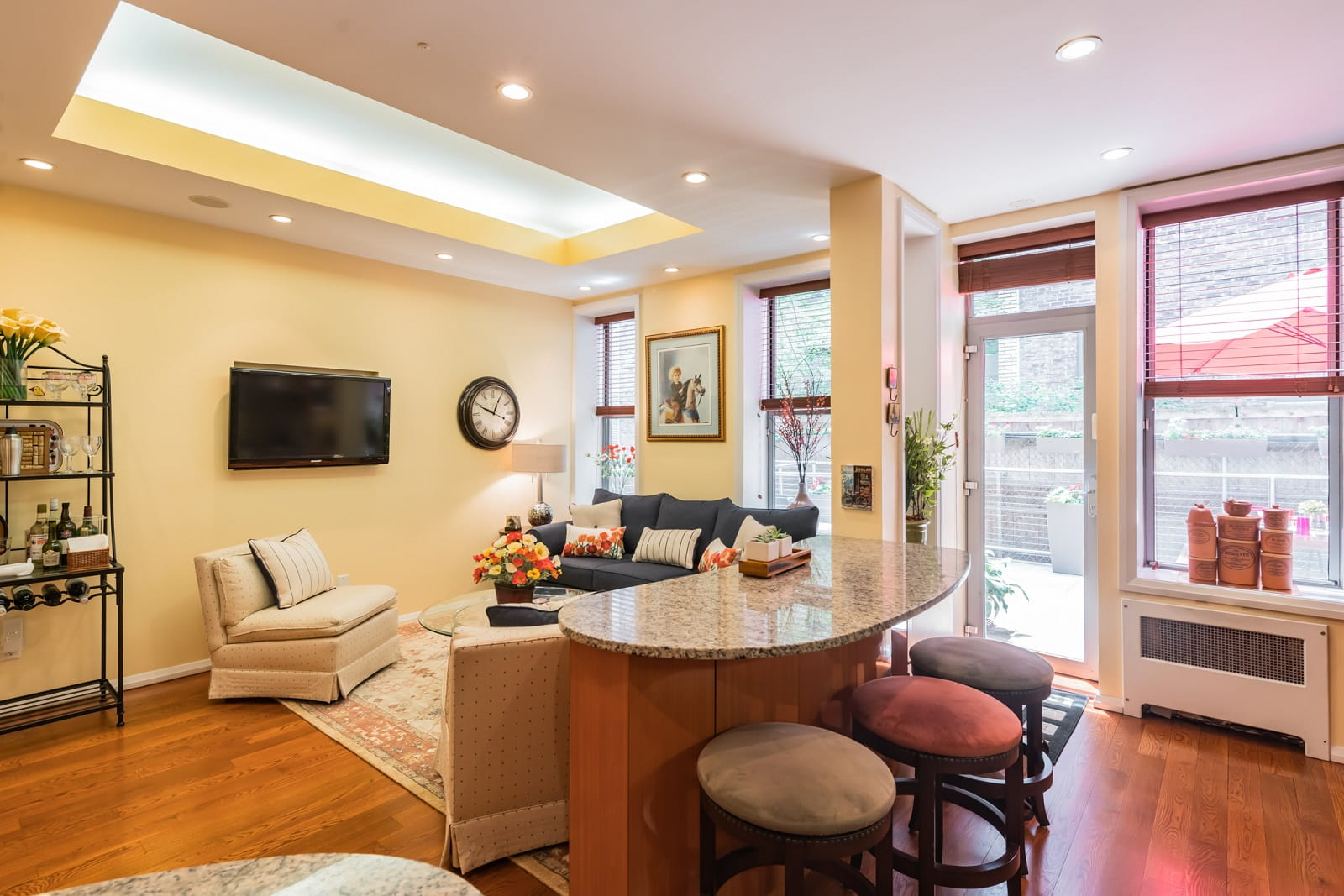 Real Estate Photography in Newyork City - NY - USA - Living Area View
