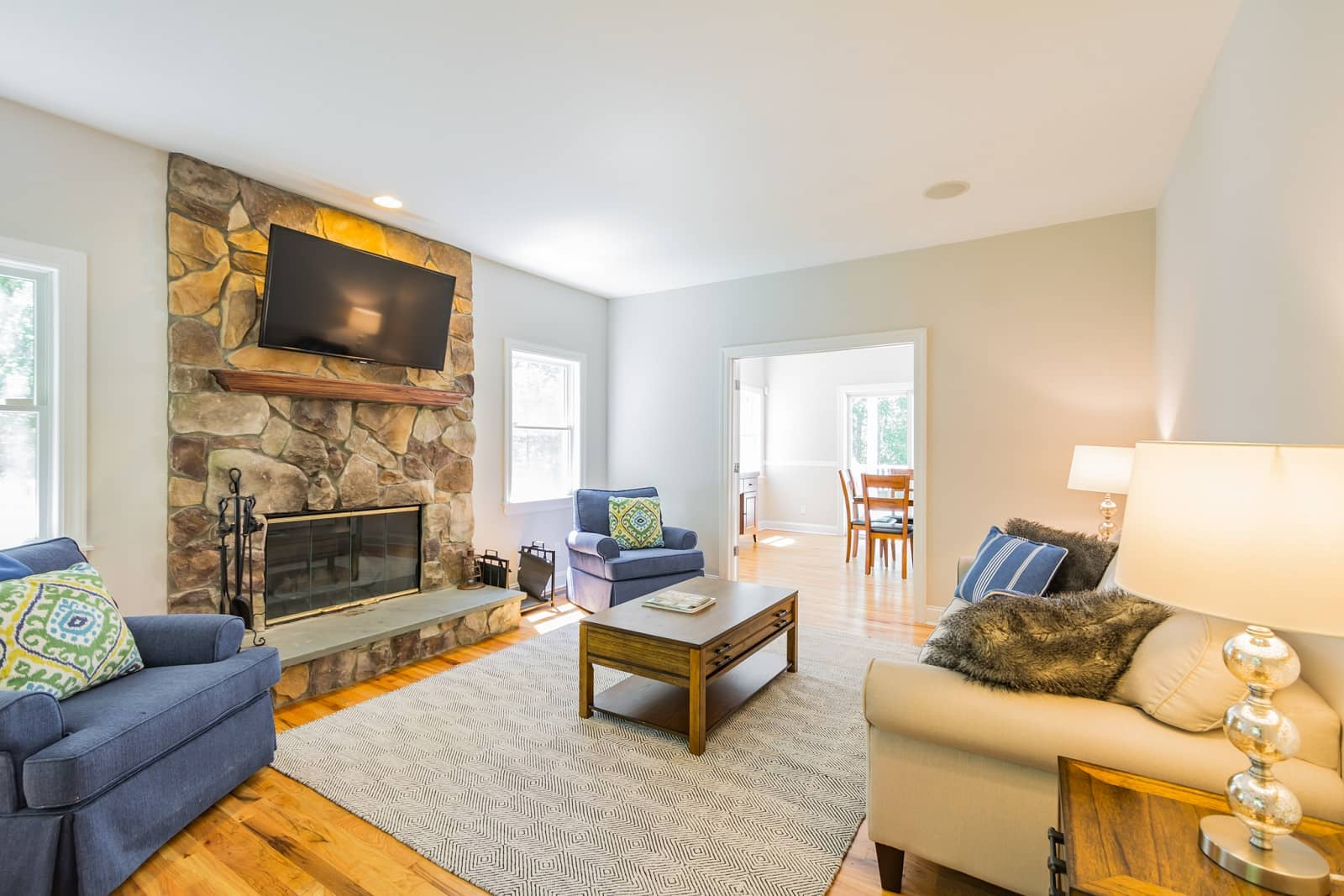 Real Estate Photography in The Hamptons - NY - USA - Living Area View