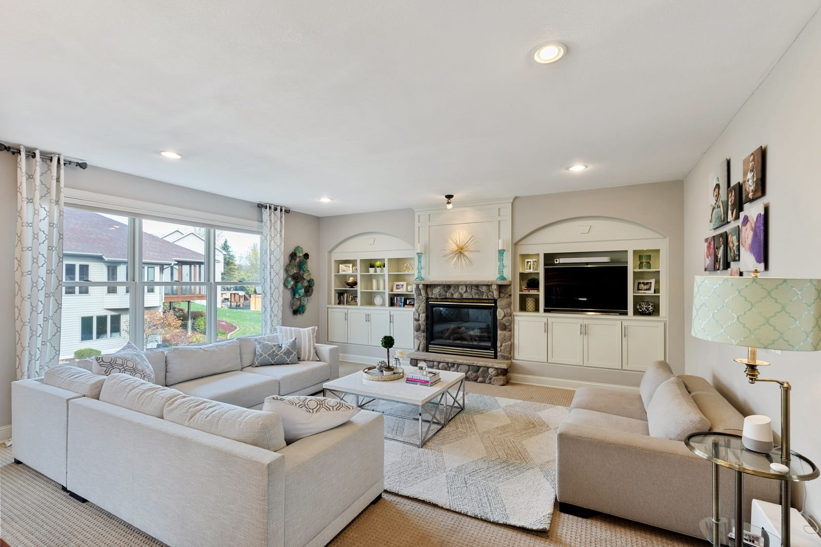 Real Estate Photography in Bloomington - MN - Living Area View